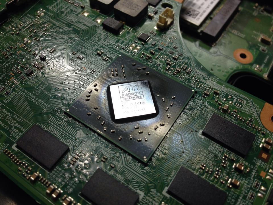 đóng chip laptop